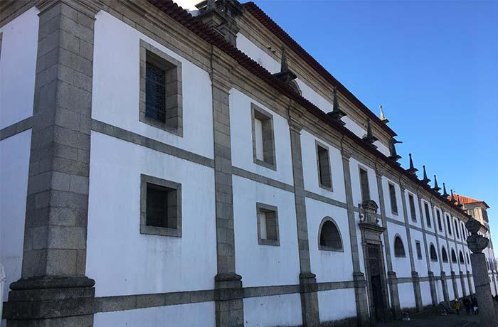 Mosteiro de Arouca fachada