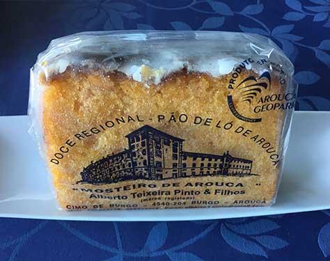 Doces conventuais Pão de ló3